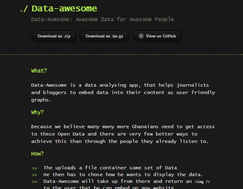 Data Awesome